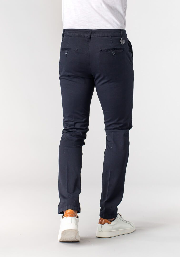 PANTALONE TAILORED FIT  Blu
