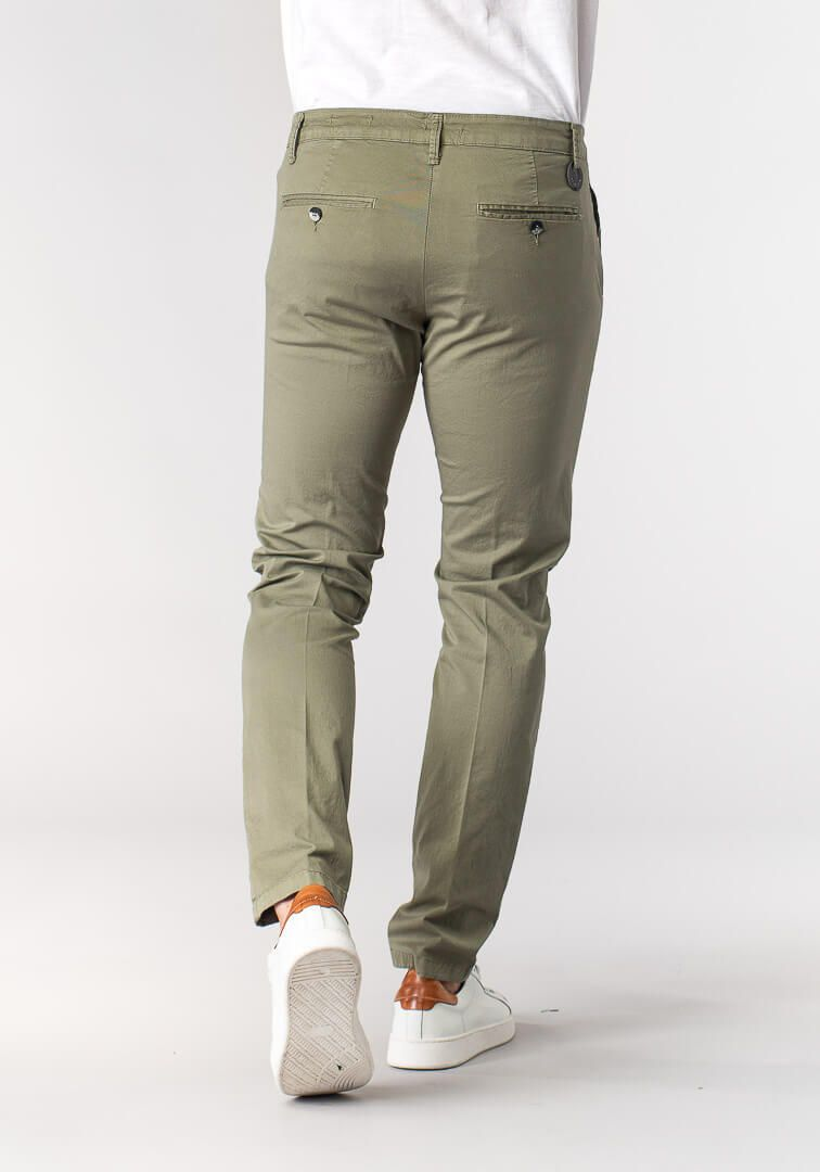 PANTALONE TAILORED FIT  Verde
