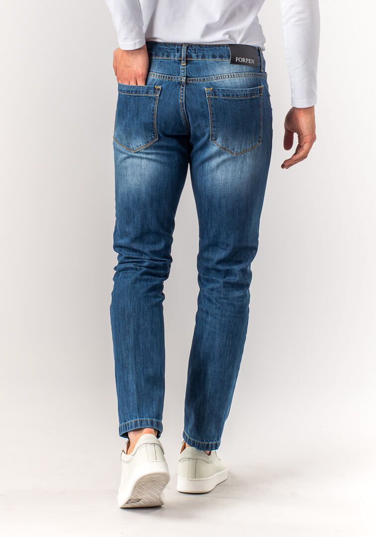 JEANS TAILOR FIT STONE Blu