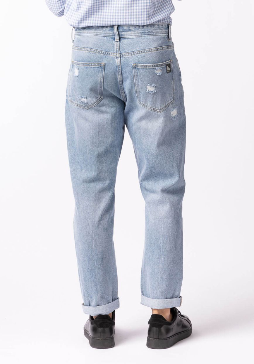JEANS STRAPPI COULISSE