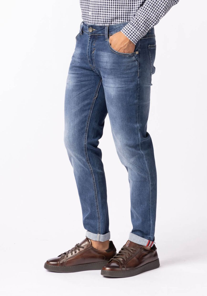 JEANS SUPERFLEX WASHED