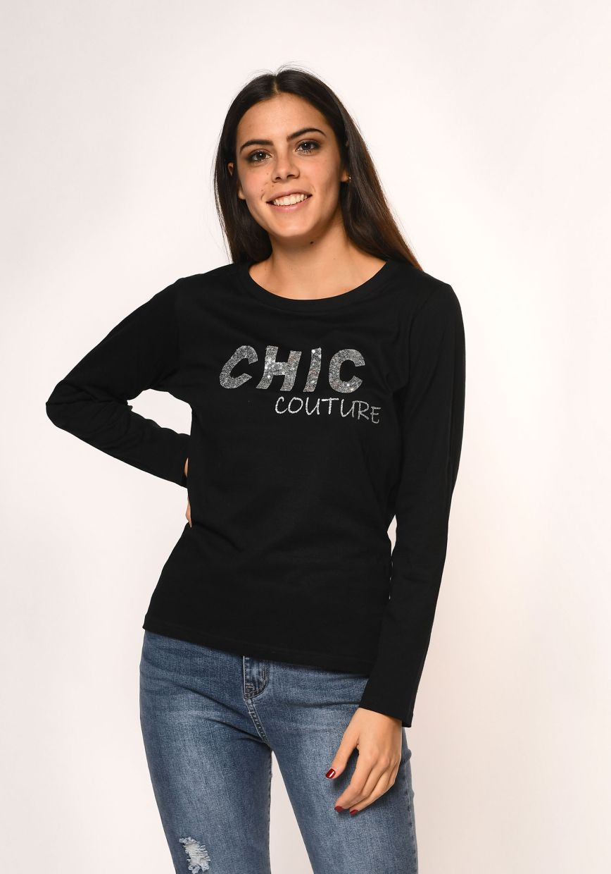 T-shirt m/l chic couture